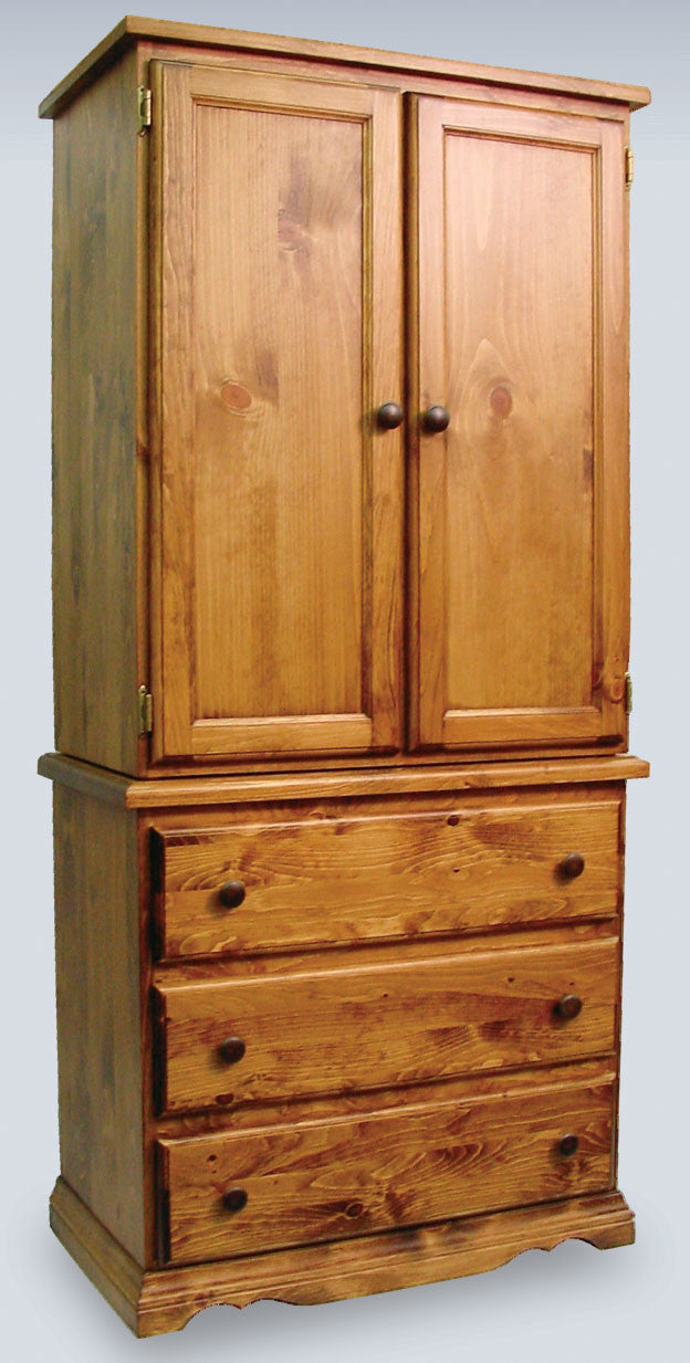 C214 3 Drawer, 2 Door, 2 Bin (Horizontal)