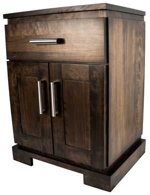 D162 2-Door Night Stand - Old Hippy Wood Products 2415-80 Ave, Edmonton, AB