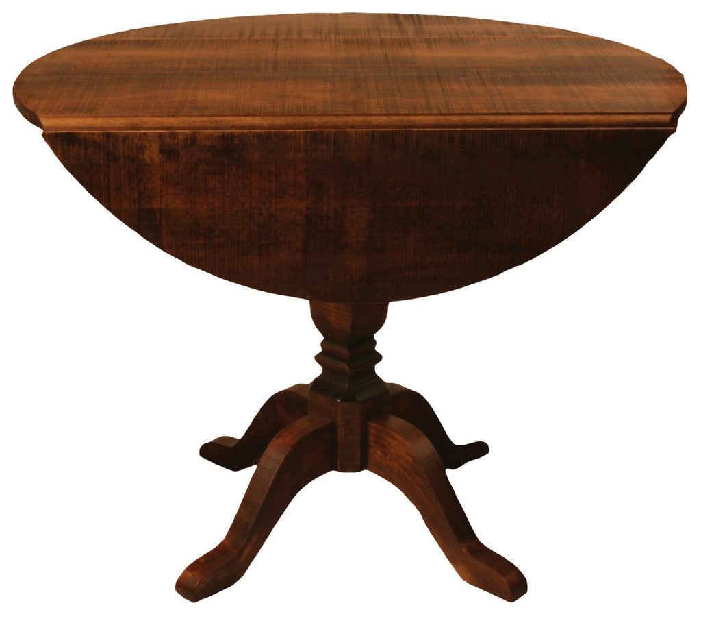 "Rustic Drop Leaf Table R418 40"" Round"