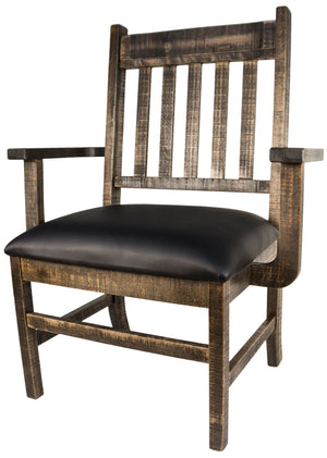 RG758 Rustic Grand Chair - Old Hippy Wood Products 2415-80 Ave, Edmonton, AB