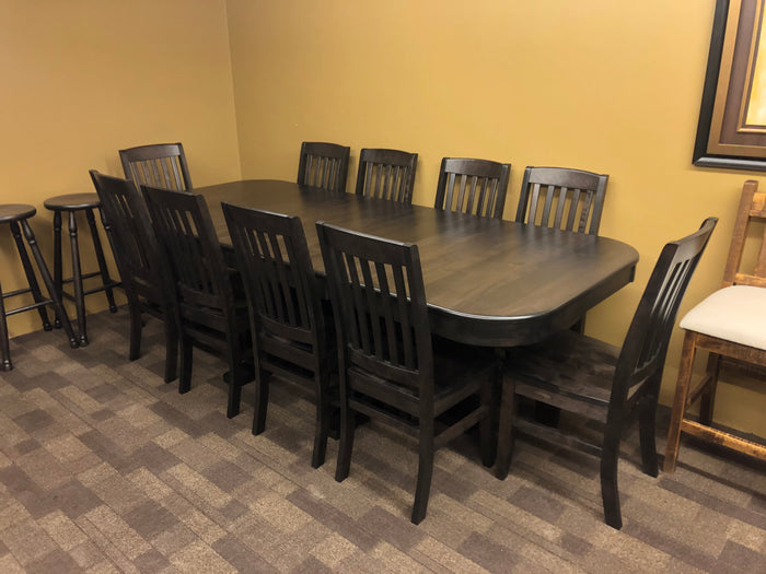 Product: D533B Table in Midnight Finish Regular $3498 each