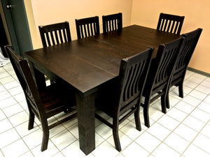Rustic 431 Table Set - Old Hippy Wood Products 2415-80 Ave, Edmonton, AB