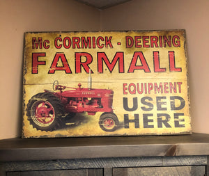 Farmall Equipment - Old Hippy Wood Products 2415-80 Ave, Edmonton, AB