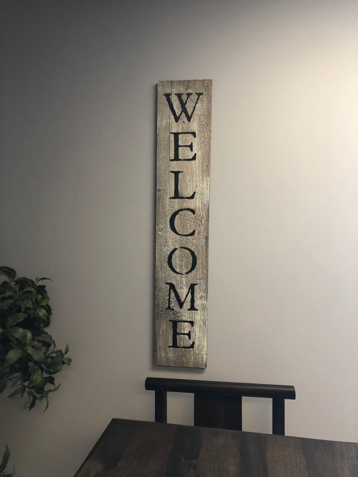Vertical Welcome - Old Hippy Wood Products 2415-80 Ave, Edmonton, AB