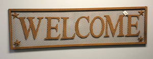 Rustic Welcome Sign - Old Hippy Wood Products 2415-80 Ave, Edmonton, AB