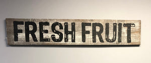 Fresh Fruit - Old Hippy Wood Products 2415-80 Ave, Edmonton, AB