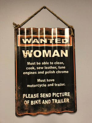 Wanted Woman - Old Hippy Wood Products 2415-80 Ave, Edmonton, AB