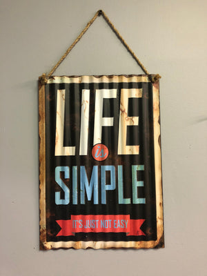 Life is Simple - Old Hippy Wood Products 2415-80 Ave, Edmonton, AB