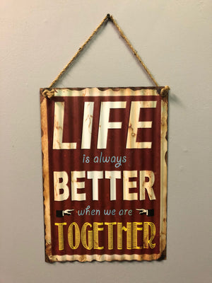 Life is Better - Old Hippy Wood Products 2415-80 Ave, Edmonton, AB