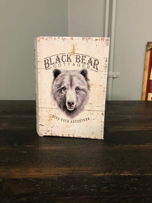 Bear, Deer, Moose Decorative Storage Books - Old Hippy Wood Products 2415-80 Ave, Edmonton, AB