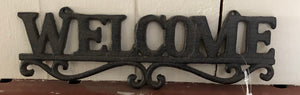 Rustic Metal Welcome - Old Hippy Wood Products 2415-80 Ave, Edmonton, AB