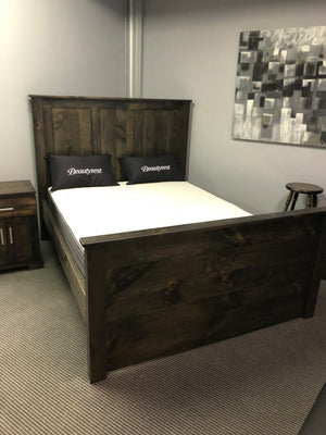 Rustic Fusion Queen Bed S-153