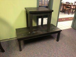 Rustic Coffee and End Tables S-189