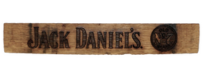 Jack Daniels Stave Sign - Old Hippy Wood Products 2415-80 Ave, Edmonton, AB