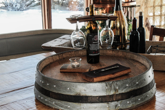 Wine Barrel Date Night Package