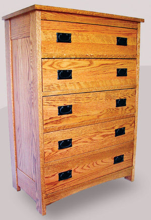 M202 5 Drawer Chest - Old Hippy Wood Products 2415-80 Ave, Edmonton, AB