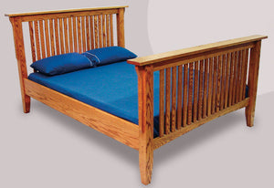 Mission Bed (Slat) - Old Hippy Wood Products 2415-80 Ave, Edmonton, AB