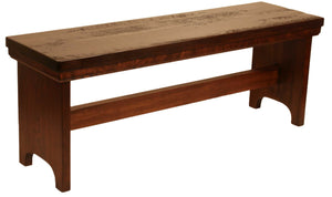 Rustic Oak Bench - Old Hippy Wood Products 2415-80 Ave, Edmonton, AB