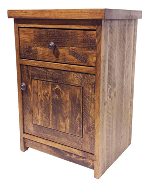 #R161 - 1 door nightstand - Old Hippy Wood Products 2415-80 Ave, Edmonton, AB
