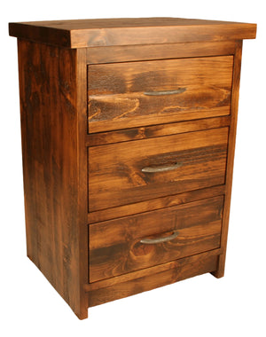 R163 3-Drawer Night Table - Old Hippy Wood Products 2415-80 Ave, Edmonton, AB