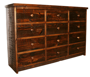 R181 Rustic 12 Drawer Dresser - Old Hippy Wood Products 2415-80 Ave, Edmonton, AB