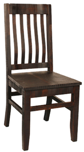 R748 Rustic School House Chair