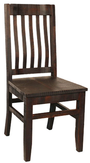 R748 Rustic School House Chair - Old Hippy Wood Products 2415-80 Ave, Edmonton, AB