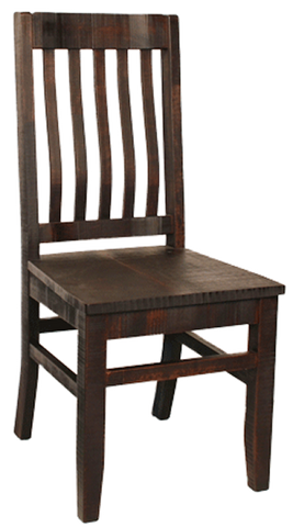 R748 Rustic School Chair