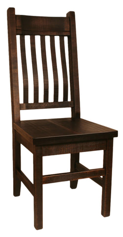 R749 Rustic Bent-Back Chair