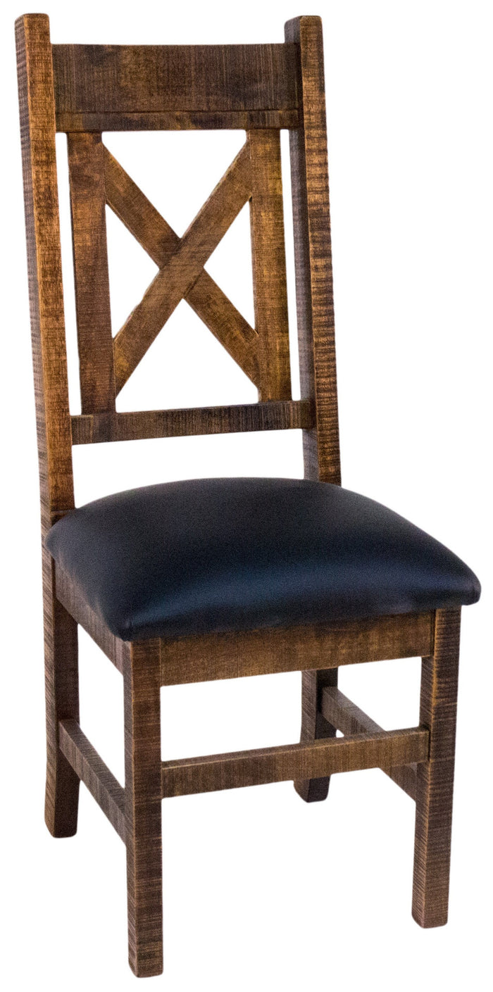 Product: R751 Rustic X-Back Chair in Black Walnut Finish Regular $667 each