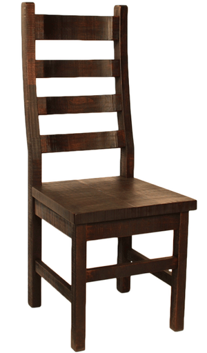 R752 Rustic Ladder-back Chair - Old Hippy Wood Products 2415-80 Ave, Edmonton, AB