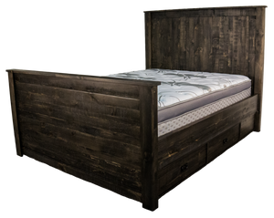 Rustic Fusion Bed - Old Hippy Wood Products 2415-80 Ave, Edmonton, AB