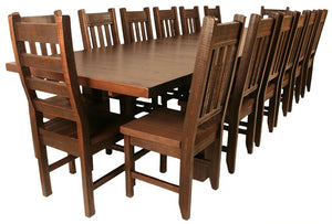 Build Your Own Super Table Set & Add Up To 14 Chairs - Old Hippy Wood Products 2415-80 Ave, Edmonton, AB
