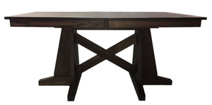 533 Square Table X Ped - Old Hippy Wood Products 2415-80 Ave, Edmonton, AB