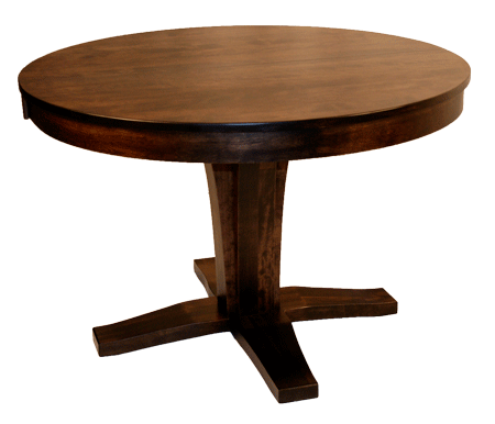 508 Single Bistro Pedestal Round Table 42