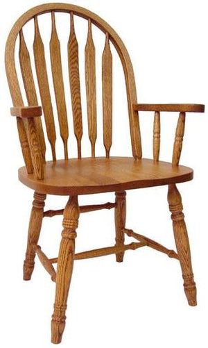 601 Bent Arrowback Arm Chair - Old Hippy Wood Products 2415-80 Ave, Edmonton, AB