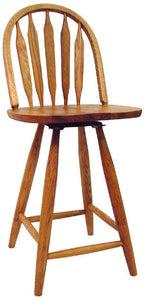 "Colonial 24"" Swivel Stool 670 - Old Hippy Wood Products 2415-80 Ave, Edmonton, AB"