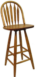 "Colonial 30"" Swivel Stool 671 - Old Hippy Wood Products 2415-80 Ave, Edmonton, AB"