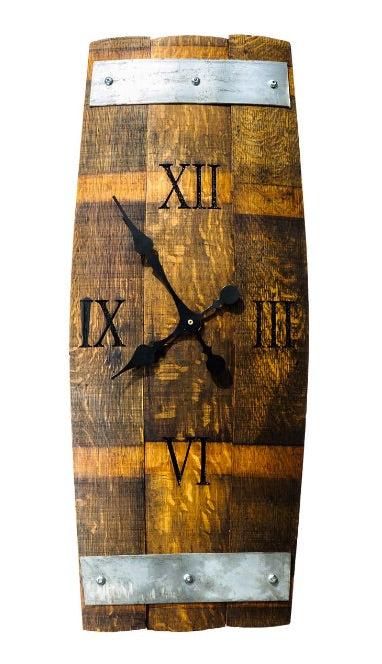 Three Stave Clock