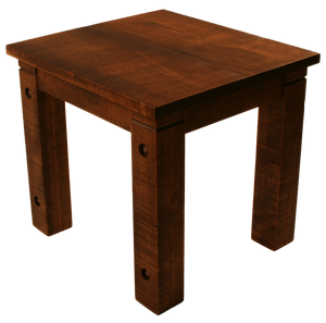 021 Rustic End Table with Bolted Rustic Legs - Old Hippy Wood Products 2415-80 Ave, Edmonton, AB