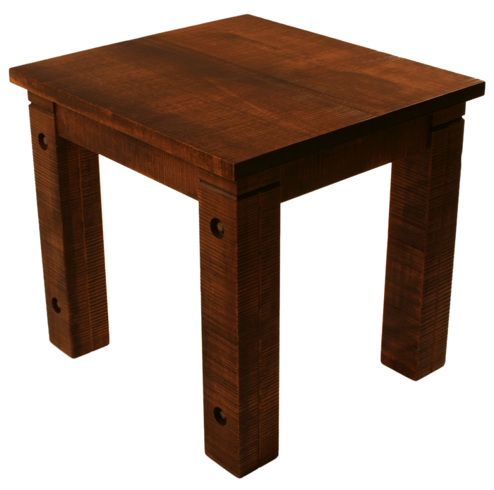 #R021B Rustic End Table