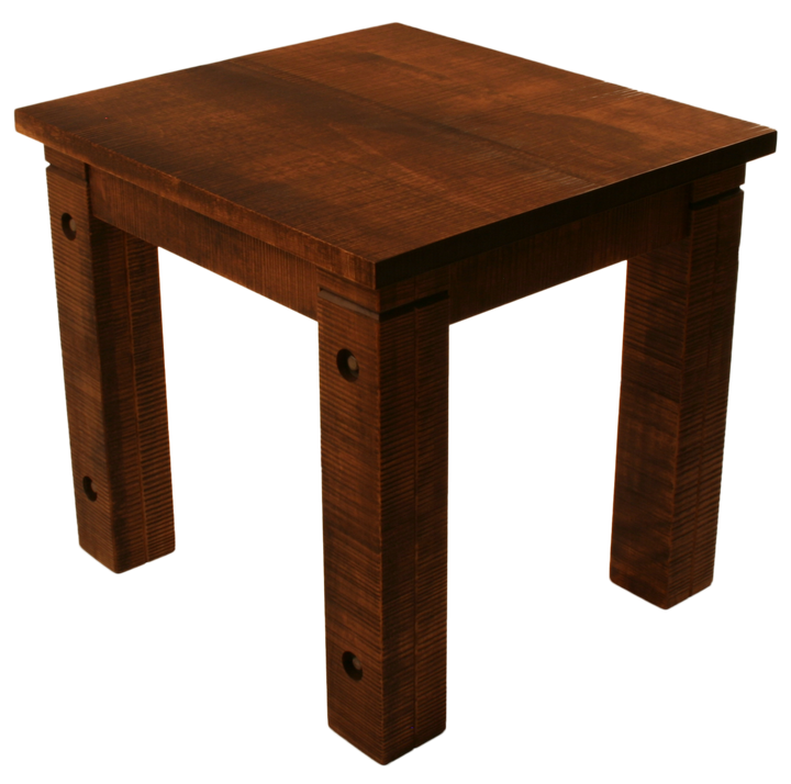 021 Rustic End Table - Old Hippy Wood Products 2415-80 Ave, Edmonton, AB