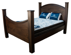 Shaker Curve Bed - Old Hippy Wood Products 2415-80 Ave, Edmonton, AB