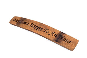 Stave Engravings - Old Hippy Wood Products 2415-80 Ave, Edmonton, AB