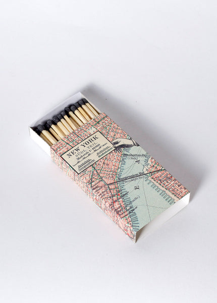 MATCHES - MAP NEW YORK