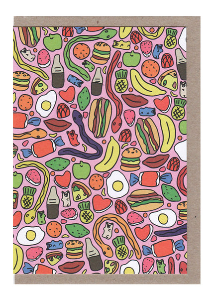 Lollies Card