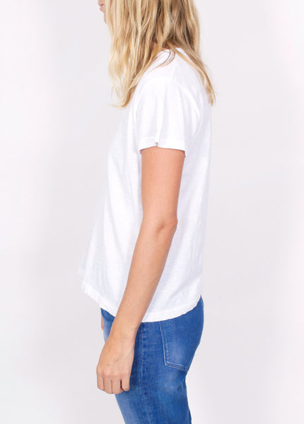 Strapped Deep V Tee