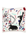 Des Chats Dansants Pillow