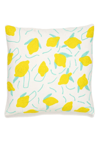 Lemon Party Pillow