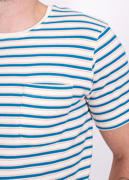 Terry Striped Tee